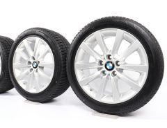 BMW Velgen met Winterbanden 5 Serie F10 F11 6 Serie F06 F12 F13 18 Inch Styling 328 V-Speiche