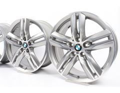 BMW Alloy Rims X1 F48 X2 F39 18 Inch Styling 570 M Double-Spoke