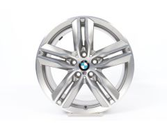 BMW Alloy Rim X1 F48 X2 F39 18 Inch Styling 570 M Double-Spoke