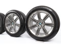 BMW Winterkompletträder X5 G05 X6 G06 20 Zoll Styling 736 Sternspeiche