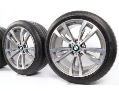 BMW Velgen met Zomerbanden X5 F15 X6 F16 20 Inch Styling 469 M Doppelspeiche