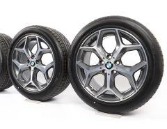 BMW Velgen met Zomerbanden X1 F48 X2 F39 18 Inch Styling 569 Y-Speiche