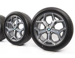 BMW Velgen met All-Season banden X1 F48 X2 F39 18 Inch Styling 569 Y-Speiche
