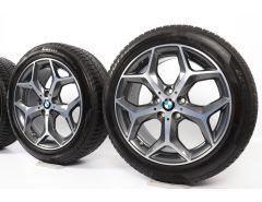 BMW Winterkompletträder X1 F48 X2 F39 18 Zoll Styling 569 Y-Speiche