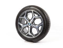 BMW Winter Wheels X1 F48 X2 F39 18 Inch Styling 569 Y-Speiche