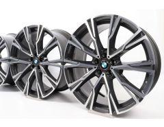 BMW Velgen X7 G07 22 Inch Styling 758 Y-Speiche