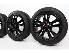 MINI Velgen met Winterbanden F55 F56 F57 17 Inch Styling JCW Double Spoke 510