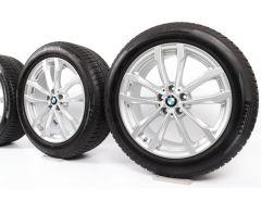 BMW Velgen met Winterbanden X3 G01 X4 G02 19 Inch Styling 691 V-Speiche