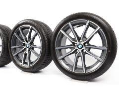 BMW Velgen met Winterbanden 3 Serie G20 G21 4 Serie G22 G23 18 Inch Styling 780 V-spaak