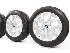 BMW Winterkompletträder X1 F48 X2 F39 17 Zoll Styling 574 Y-Speiche