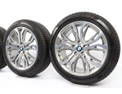 BMW Winterkompletträder X1 F48 X2 F39 18 Zoll Styling 566 Y-Speiche