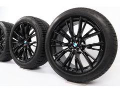 BMW Winterkompletträder 3er G20 G21 18 Zoll Styling 796 M V-Speiche
