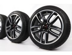 MINI Velgen met Winterbanden F60 Countryman 19 Inch Styling JCW Course Spoke 523 2-Tone