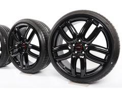 MINI Summer Wheels F54 Clubman 19 Inch Styling JCW Course Spoke 523 schwarz