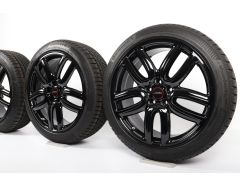 MINI Velgen met Winterbanden F60 Countryman 19 Inch Styling JCW Course Spoke 523 Schwarz