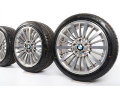 BMW Velgen met All-Season banden 3 Serie F30 F31 4 Serie F32 F33 F36 18 Inch Styling 416 Multi-spaak