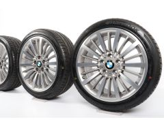 BMW Velgen met Zomerbanden 3 Serie F30 F31 4 Serie F32 F33 F36 18 Inch Styling 416 Vielspeiche