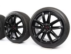 MINI Winter Wheels F54 Clubman 18 Inch Styling JCW Grip Spoke 520