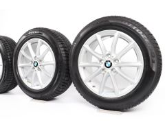 BMW Winterkompletträder X1 F48 X2 F39 17 Zoll Styling 683 V-Speiche