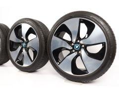 BMW Sommerkompletträder i8 I12 I15 20 Zoll Styling 444 Turbinenstyling