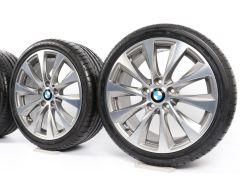 BMW Velgen met Zomerbanden 1 Serie F20 F21 2 Serie F22 F23 18 Inch Styling 387 V-Speiche