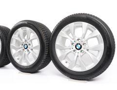 BMW Velgen met Winterbanden X1 E84 17 Inch Styling 318 V-spaak