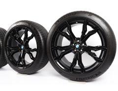BMW Velgen met Zomerbanden X3M F97 X4M F98 21 Inch Styling 765 M V-Speiche
