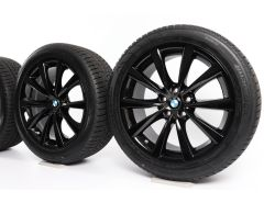 BMW Winterkompletträder 5er G30 G31 18 Zoll Styling 642 V-Speiche
