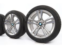 BMW Velgen met Winterbanden 3 Serie F34 18 Inch Styling 397 Dubbelspaak