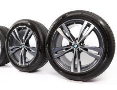 BMW Winterkompletträder X7 G07 21 Zoll Styling 754 M Doppelspeiche