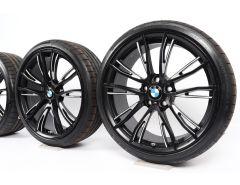 BMW Velgen met Zomerbanden 1 Serie F20 F21 2 Serie F22 F23 19 Inch Styling 624 M Dubbelspaak