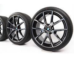 BMW Winter Wheels 8 Series G14 G15 G16 20 Inch Styling 728 M Y-Speiche