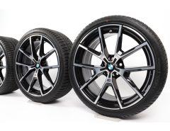 BMW Velgen met Winterbanden 8 Serie G14 G15 G16 20 Inch Styling 728 M Y-Speiche