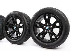 BMW Velgen met Winterbanden X1 E84 17 Inch Styling 319 Sterspaak