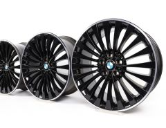 BMW Alloy Rims 5 Series F10 F11 6 Series F06 F12 F13 20 Inch Styling 410 Multi-Spoke