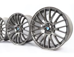 BMW Alloy Rims 5 Series F07 7 Series F01 F02 21 Inch Styling 312 Cross-Spoke