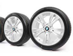 BMW Velgen met Zomerbanden X3 F25 X4 F26 19 Inch Styling 309 Doppelspeiche