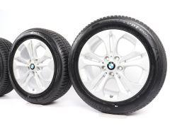 BMW Velgen met Winterbanden X1 F48 X2 F39 17 Inch Styling 564 Dubbelspaak