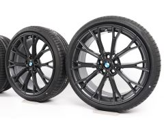 BMW Sommerkompletträder 5er G30 G31 20 Zoll Styling 669 M Doppelspeiche