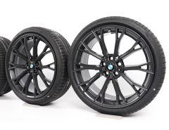 BMW Winterkompletträder 5er G30 G31 20 Zoll Styling 669 M Doppelspeiche