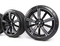 BMW Sommerkompletträder X5 G05 X6 G06 22 Zoll Styling 749 M Sternspeiche