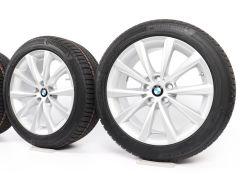 BMW Winterkompletträder 5er G30 G31 8er G14 G15 G16 18 Zoll Styling 642 V-Speiche
