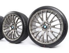 BMW Sommerkompletträder 5er F07 7er F01 F02 21 Zoll Styling 312 Kreuzspeiche