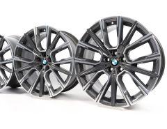 BMW Alufelgen 6er G32 7er G11 G12 20 Zoll Styling 817 M Sternspeiche