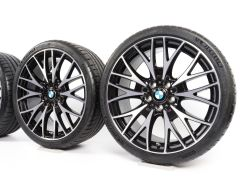 BMW Summer Wheels 3 Series F30 F31 4 Series F32 F33 F36 20 Inch Styling 404 Kreuzspeiche