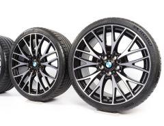 BMW Velgen met Zomerbanden 3 Serie F30 F31 4 Serie F32 F33 F36 20 Inch Styling 404 Kreuzspeiche
