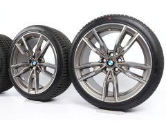 BMW Velgen met Winterbanden 3 Serie G20 G21 19 Inch Styling 792 M Doppelspeiche