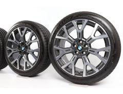 BMW Velgen met Zomerbanden X1 F48 X2 F39 19 Inch Styling 580 Y-Speiche