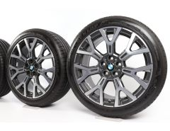 BMW Sommerkompletträder X1 F48 X2 F39 19 Zoll Styling 580 Y-Speiche