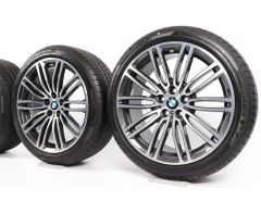 BMW All-Season Wheels 5 Series G30 19 Inch Styling 664 M Doppelspeiche